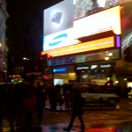 Piccadilly Circus, London, Christmas 2011