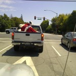 Santa Claus in California