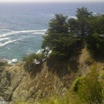 northern california big sur mcway waterfall