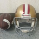  NFL Helmet San Francisco 49ers