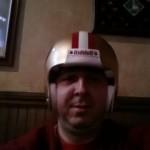 20130112_202241 liv 49ers nfl helmet in bar