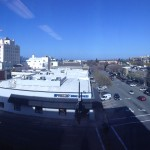 View from Cognitive Match's office in San Mateo