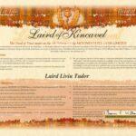 Laird Liviu Tudor of Kincavel