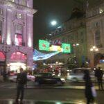 Piccadilly Circus, London, Christmas 2011
