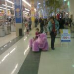With My Niece in a Supermarket