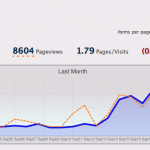 8,000+ Page Views a Month!