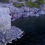 crater lake, rim village, oregon, usa