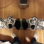 Liv's New Snowboard! :)