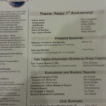 Silicon Valley Storytellers Toastmasters Turns 1 Year Old